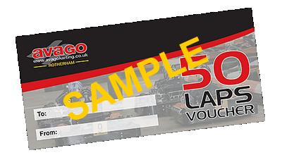 Vouchers   Avago Karting